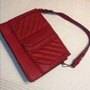 Red Shoulder/ Crossbody Bag